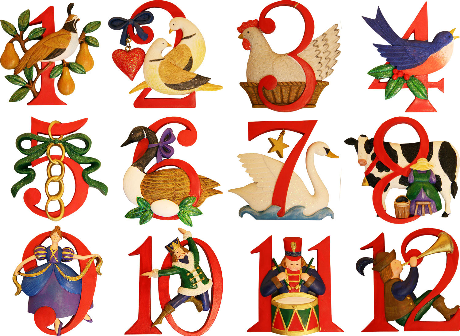 the twelve days of christmas - On The 12th Day Of Christmas
