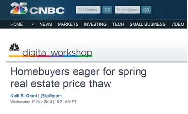 spring real estate image