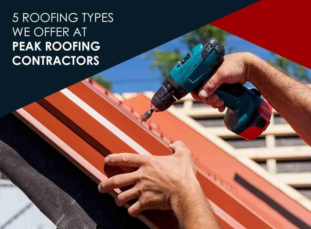 Peak Roofing Contractors