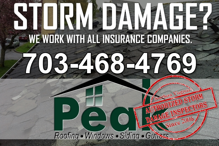 Storm Damage Peak Roofing Contractors Inc