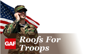 It's Not Too Late to Get 'Roofs for Troops' Rebate!