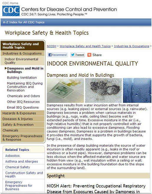 Workplace Safety & Healthy Topics Image