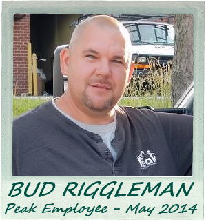 May 2014 – Peak Employee Highlight: Bud Riggleman