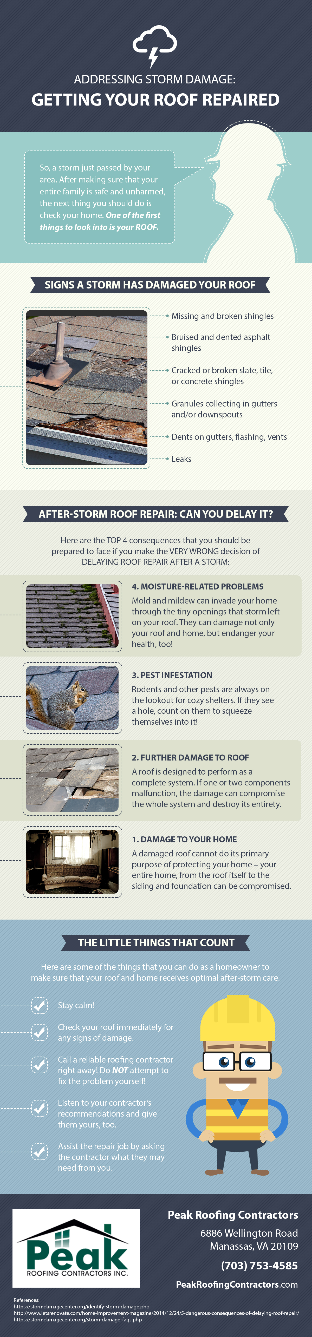 Addressing Storm Damage Getting Your Roof Repaired