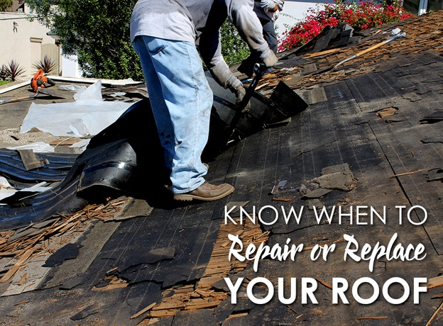 Know When to Repair or Replace Your Roof