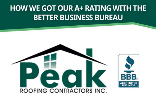 How We Got Our A  Rating With The Better Business Bureau